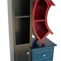 Stacked Cabinet No 1  by Vincent Leman: Wood Bookcase - Artful Home