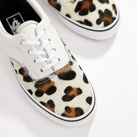 Vans Leopard Print Era Trainers at asos.com