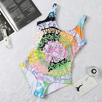 shosouvenir  Versace Printed beautiful bikini