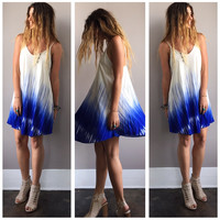 An Acrylic Brushed Sundress