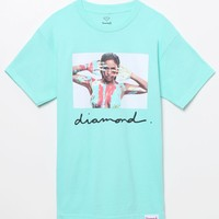 Diamond Supply Co - Cassie Neon Hand T-Shirt - Mens Tee