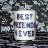 5 CUSTOM VOTIVE CANDLES ANY IMAGE YOU WANT!