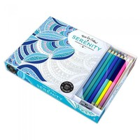 Serenty Adult Coloring Book With Pencil