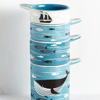 Swell Sea-soned Measuring Cups | Mod Retro Vintage Kitchen | ModCloth.com