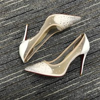 Christian Louboutin Cl Pumps High Heels Reference #02bk50 - Best Online Sale