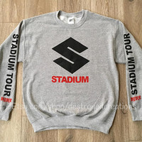 Stadium Tour Justin Bieber Sweatshirt Stadium Tour Vetements Off white Merch