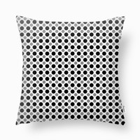 Black white Gray Dots