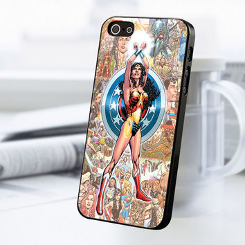 Wonder Woman iPhone 5 Or 5S Case