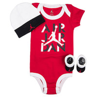 Infant Air Jordan Stencil 3-Piece Set