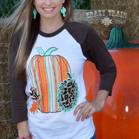 Pumpkin Patch - Serape / Leopard
