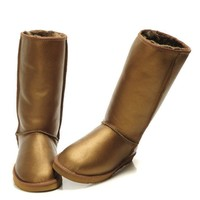 UGG Fashion Plush leather boots boots in tube Boots-5