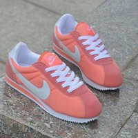 nike cortez classic sport casual cloth surface running shoes women retro sneakers