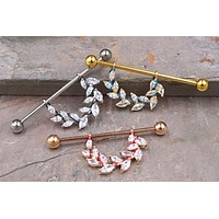 Leaves Industrial Barbell 14g or 16g