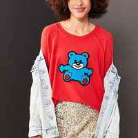 Truly Madly Deeply Plush Teddy Sweatshirt - Urban Outfitters