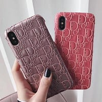 DIOR Fashion iPhone Phone Cover Case For iphone 7 7plus 8 8plus X XR XS MAX 11 Pro Max 12 Mini 12 Pro Max