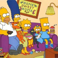 The Simpsons Home Sweet Home Poster 23x35