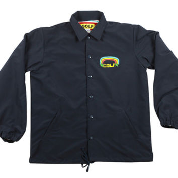 GOLF RAINBOW COACH JACKET NAVY