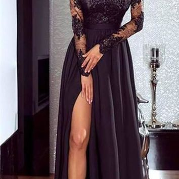 Women Lace Evening Party