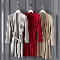 Cashmere Robe, Red