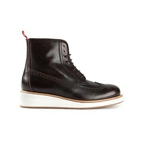 Moncler brogue ankle boots