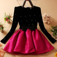 Long Sleeves Party DRESS