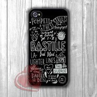 bastille song collage-yah for iPhone 6S case, iPhone 5s case, iPhone 6 case, iPhone 4S, Samsung S6 Edge