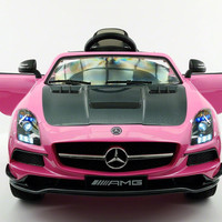 MERCEDES BENZ SLS  RIDE-ON TOY CAR WITH PARENTAL REMOTE MP4 | PINK