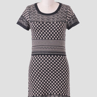 Lisette Printed Sweater Dress