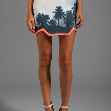 Finders Keepers You Sent Me Skirt in Paradise Beach Monochrome/Sherbert from REVOLVEclothing.com