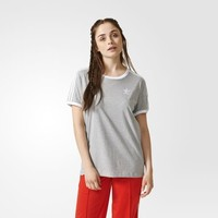 adidas 3-Stripes Tee - Grey | adidas US
