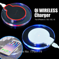 Universal Wireless Charger Charging Pad for APPLE iPhone 5 - 6