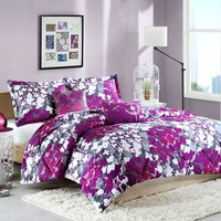 Intelligent Design Annette Down-Alternative Comforter Set (Purple)