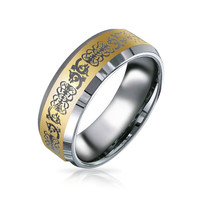 Bling Jewelry Celt Characters Band