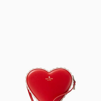 yours truly chocolate heart bag | Kate Spade New York
