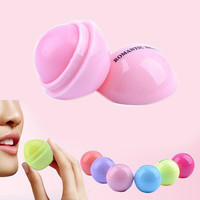 Ball Lip Balm Lipstick Lip Protector Sweet Taste Embellish Lip Ball Makeup Lipstick Gloss Cosmetic Accessories HB-0109