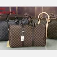 LV Fashion Leather Luggage Travel Bag large capacity Tote Handbag H-LLBPFSH-1