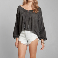 Supersoft Peasant Blouse