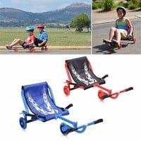 Children 3 Flashing Wheels Scooter Lightweight Outdoor Play Kids Foot Twister Swing Car Tricycle Ride Scooter Best Gift drop shi