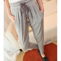 Summer Sport Casual Slim Feet Pants Harem Pants = 1783188932