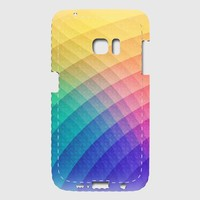 Fancy Spectrum Pattern Design (HDR) - Phone Case Samsung Galaxy S7 Edge Premium Case | Spreadshirt