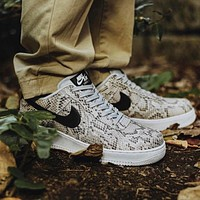 Nike Air Force 1 Serpentine Trending Women Men Casual Sport Shoes Sneakers
