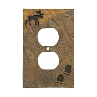 Big Sky Moose Tracks Stonecast Outlet Cover