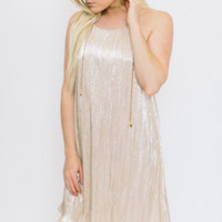Enchanted Evening Dress - Gold