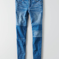 AEO Denim X Jegging Ankle , Blue Strands