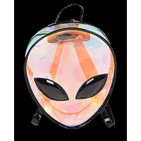 Alien Head PVC Backpack