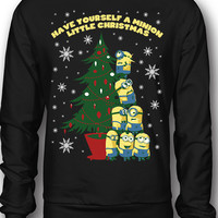 EXCLUSIVE Have Yourself A Minion Little Ugly Christmas Sweatshirt
