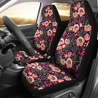 Cute Peony Car Seat Covers