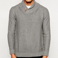 Jack & Jones Shawl Collar Sweater