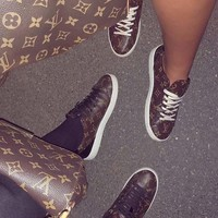 Louis Vuitton Women Fashion Frontrow Sneaker