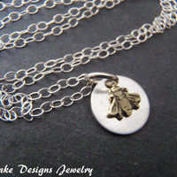tiny bee Necklace sterling silver bee necklace